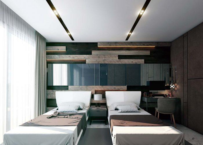 Yatak Odası - 3+1 Dublex